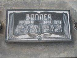 Lillie Mae <i>Fisher</i> Bonner