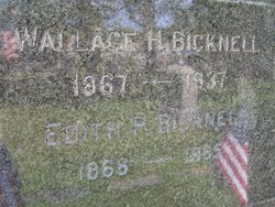 Edith P <i>Wallace</i> Bicknell
