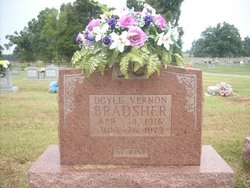 Doyle Vernon Bradsher