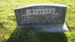 Annie Johanna <i>Christensen</i> Johansen