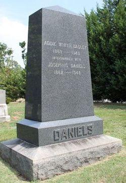 Addie Worth <i>Bagley</i> Daniels