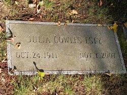 Julia Cowles Esty