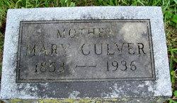 Mary Ann Elizabeth <i>Keister</i> Culver