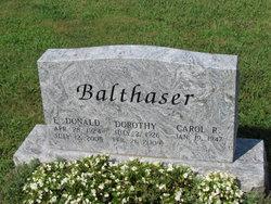 Dorothy E <i>Brobst</i> Balthaser