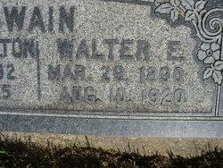 Walter Edward Swain