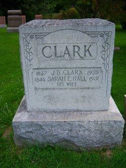 Sarah E. <i>Hall</i> Clark