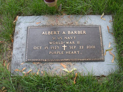 Albert A Barber