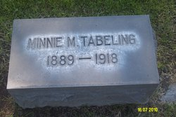 Minnie M. Tabeling