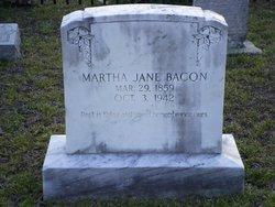 Martha Jane <i>Heflin</i> Bacon