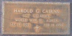 Harold George Cairns