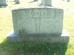 Martha <i>Weed</i> Abbey