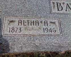 Altha Arizona <i>Holloway</i> Bates
