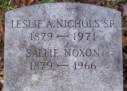 Leslie Anderson Nichols, Sr