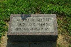 PFC Harold A Allred