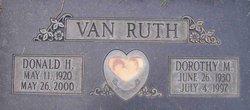Donald H. Van Ruth