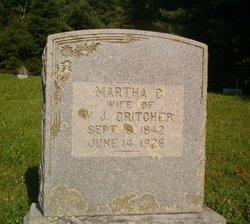 Martha C <i>Kinnick</i> Critcher