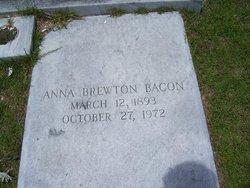 Anna K. <i>Brewton</i> Bacon