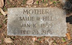 Sarah Dorcus Sallie <i>Kuykendall</i> Hill