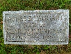 Agnes Bush <i>Taggart</i> Benedict