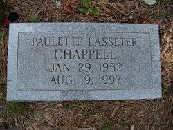 Paulette Hope <i>Lasseter</i> Chappell