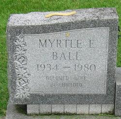 Myrtle E <i>Bowery</i> Ball