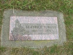 Beatrice Frances <i>Carter</i> Boss