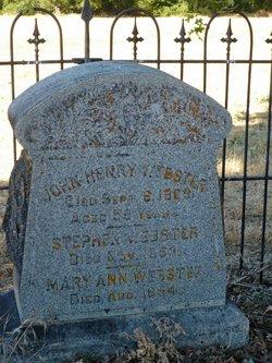 John Henry Webster