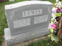 Mary Ellen <i>Donahoe</i> Lewis-Baker