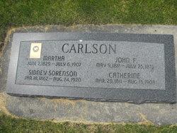 Catherine Marie <i>Anderson</i> Carlson