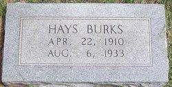 Hays Burks