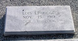 Lois Ethridge