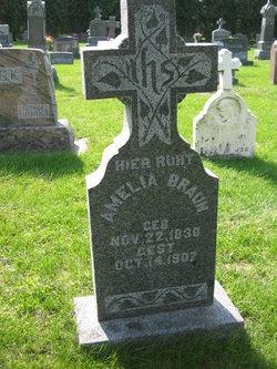 Amelia Eva Marie <i>Koster</i> Braun