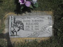 Dianne <i>Humpherys</i> Bleazard