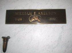 William Edwin Axelson