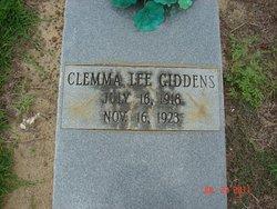 Clemma Lee Giddens