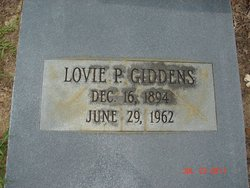Lovie <i>Pafford</i> Giddens