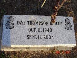 Eleanor Faye <i>Thompson</i> Bailey