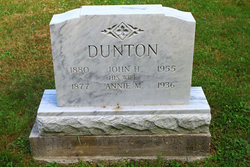 Annie Maria <i>Coffin</i> Dunton