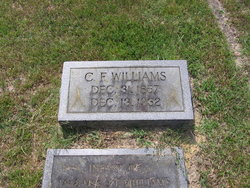 Cicero Franklin Frank Williams