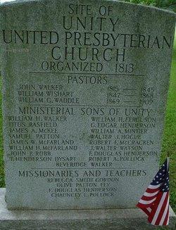Rev William Houston Walker