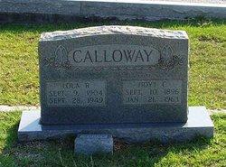Lola <i>Brownlee</i> Calloway