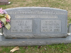 Agnes Althea <i>Allen</i> Abell