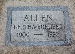 Bertha <i>Wolvendyk</i> Allen