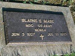 Blaine Elmer Mabe