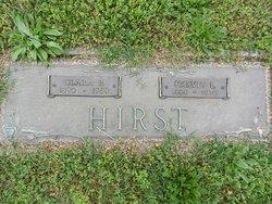 Clara M <i>Burris</i> Hirst