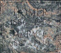Mary Clarissa Mamie <i>Harbold</i> Adams