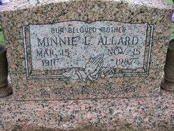 Minnie Lee Winona <i>Carpenter</i> Allard