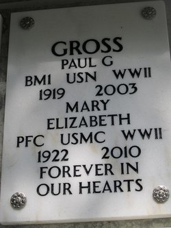 PFC Mary Elizabeth <i>Bryan</i> Gross