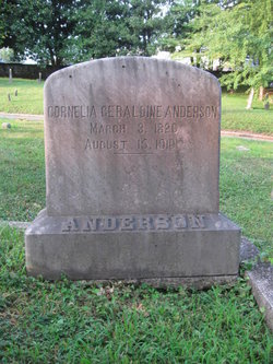 Cornelia Geraldine Anderson
