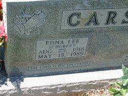 Edna Lee <i>Schubert</i> Carson